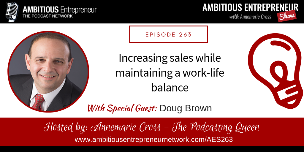 Increasing sales while maintaining a work-life balance