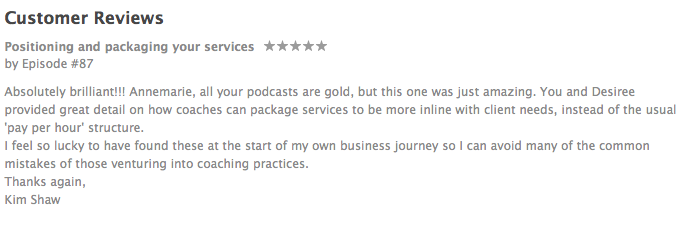 iTunes review: ambitious entrepreneur show